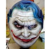 Custom Painted Joker From Batman Helmet  JustAirbrush