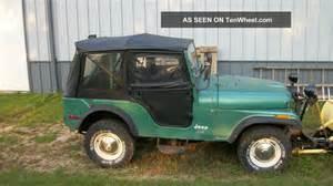 1975 jeep cj5 base sport utility 2 door 4 2l