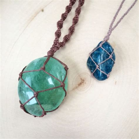 stones and for jewelry how to make a wrapped necklace diy