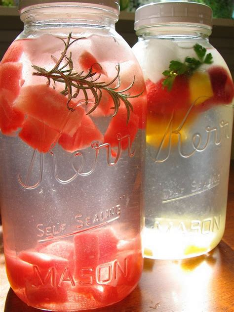 What Fruit Are In Water To Drink And Detox by 23 Best Tasty Flavored Water Drinks Images On