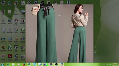 plazo pant cutting how to make ladies palazzo pant with belt cutting and