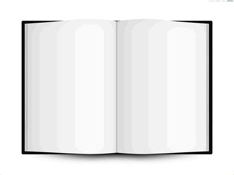 blank book template for 8 book template for pages authorizationletters org