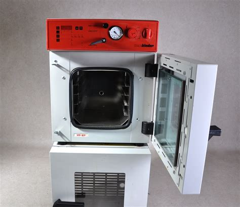Oven Vacuum binder vd 23 vacuum oven gemini bv