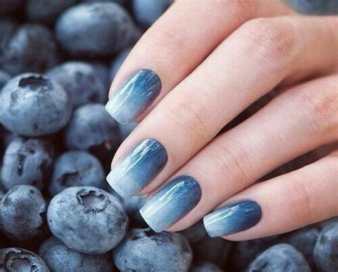 Blue Nails Trend 2008 by Blueberry Ombre We It Image 2434080 By