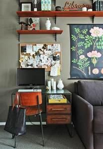 Small Desk Living Room Compact Living 25 Photos Messagenote
