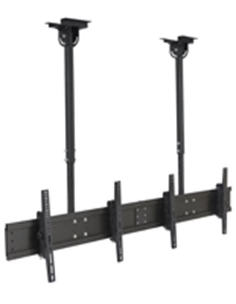 Tv Suspended From Ceiling by Ceiling Tv Mounts Single Flat Panel Holders