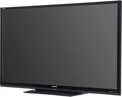 Tv Sharp Flat sharp unveils 80 quot lcd tv with backlit led flatpanelshd