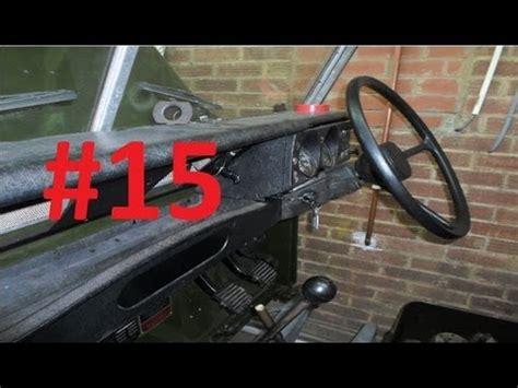 land rover series 3 restoration dashboard 15