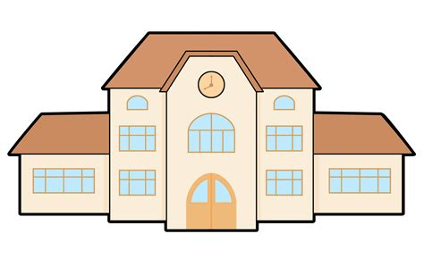 clipart school free to use domain school building clip