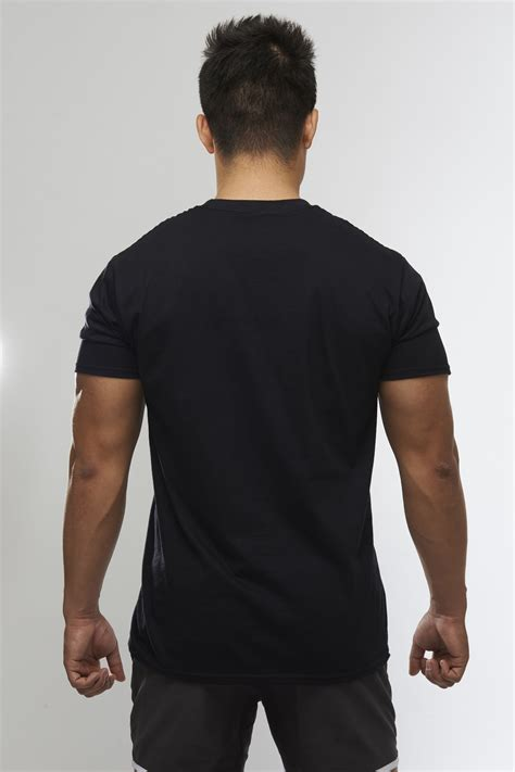 Origin T Shirt Black Gymsoul