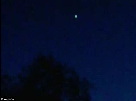 Blue Light In The Sky Last by Ufo Flashes Multi Coloured Lights Above Skies Of Lithuania