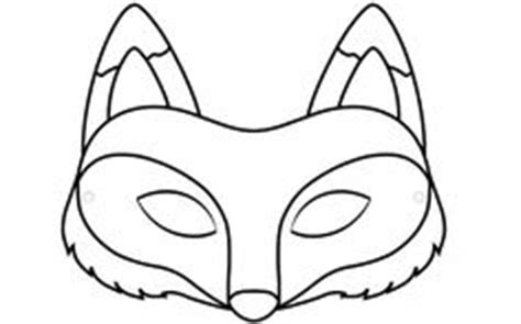 printable wolf mask black and white 1000 images about coloring printable masks on pinterest