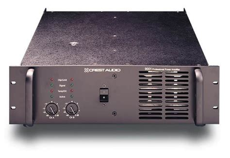 Power Lifier Pl 9001 Crest Audio Pro 9001 Image 168609 Audiofanzine