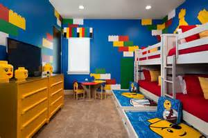 Gray White And Yellow Bedroom - 10 best kids bedroom with lego themes