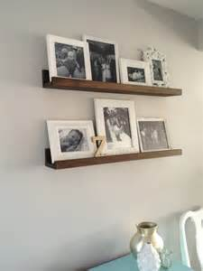 Corner Units For Living Room by Rustic Wall Mount Shelving Unit On White Painted Wall For