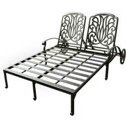 Patio Chaise Lounge Darlee Elisabeth Cast Aluminum Patio Chaise Lounge Ultimate Patio