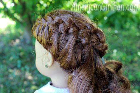 cute hairstyles for our generation dolls 52 best images about american girl hair on pinterest our