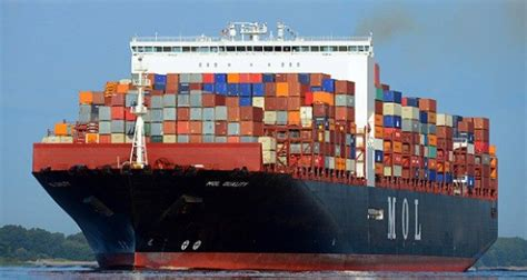 boat shipping new jersey largest container ship ever to call on the port of ny nj