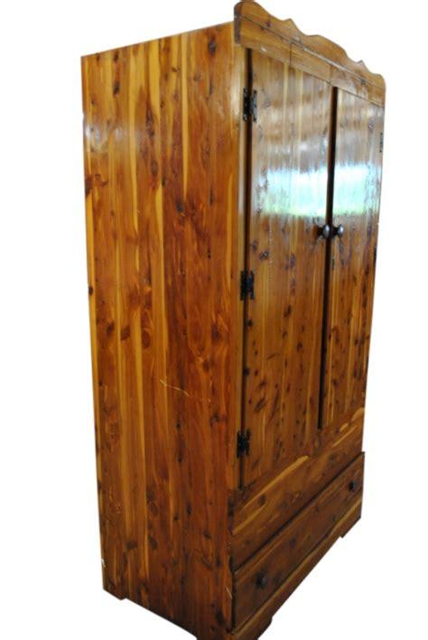 antique cedar armoire antique cedar chifferobe wardrobe