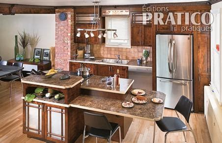fa軋des de cuisine comptoirs en stratifi 233 dans la cuisine cuisine avant