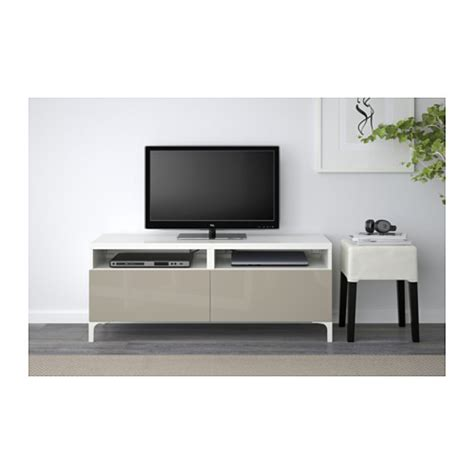 high gloss tv bench best 197 tv bench with drawers white selsviken high gloss