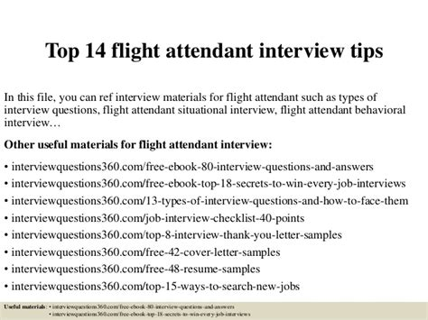 top 14 flight attendant tips
