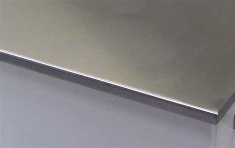 Kitchen Island Panels stainless steel for the square edged worktops sector