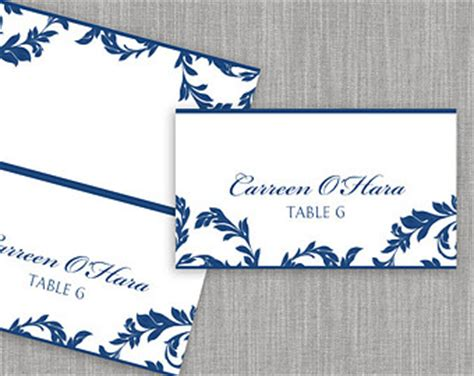 Avery 5302 Tent Cards Template by Avery 5302 Tent Card Etsy