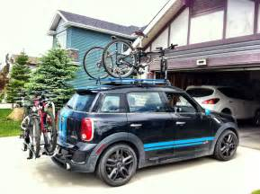 Mini Cooper Bike Racks Rails Bike Rack Cargo Box For Countryman