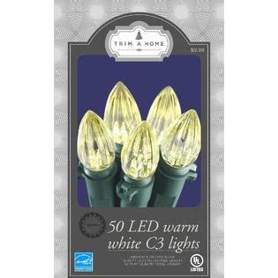 trim a home lights reviews trim a home c3 led white lights kmart