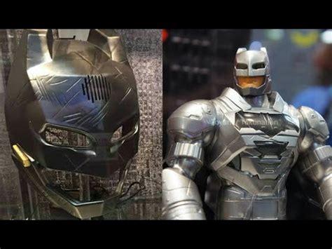 Voice Changer Batman Armor Helmet batman voice changer helmet on display and batman v