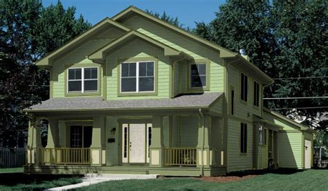 green colored houses paint ideas for home exteriors