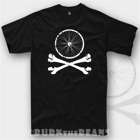 Tshirt Bmx Putih details about bike gift tshirt mountain mtb cycling skull t shirt bicycle downhill bmx new t