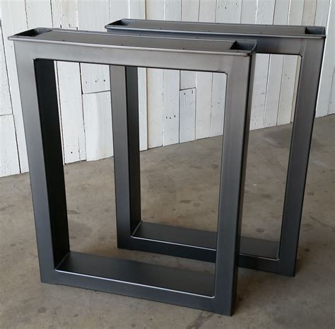 custom made table legs custom made metal table legs burton by ironcraft