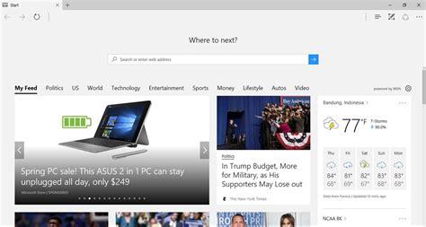 edge microsoft windows 10 browser 10 kelebihan windows 10 dibanding os lainnya infotekno id