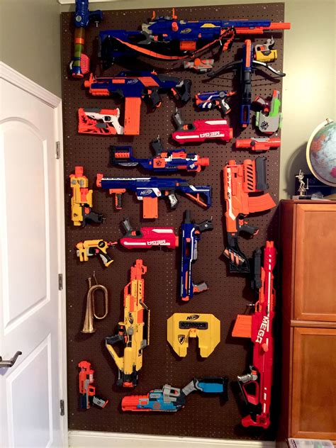 nerf bedroom nerf gun storage 50 worth of materials a couple of
