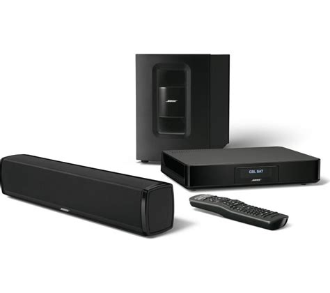buy bose cinemate 120 sound bar free delivery currys
