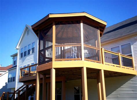 deck gazebo gazebos st louis st louis decks screened porches
