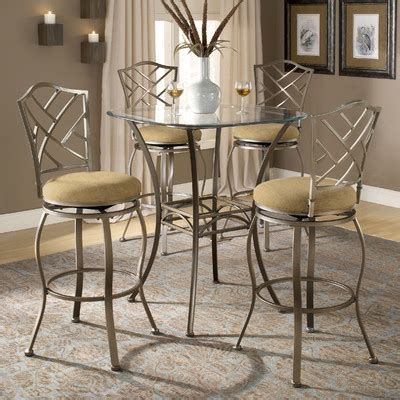 glass top bar table set glass pub tables bistro sets wayfair