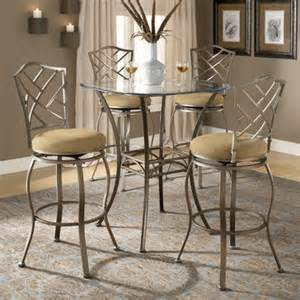 Glass Top Bar Table Set by Glass Pub Tables Bistro Sets Wayfair