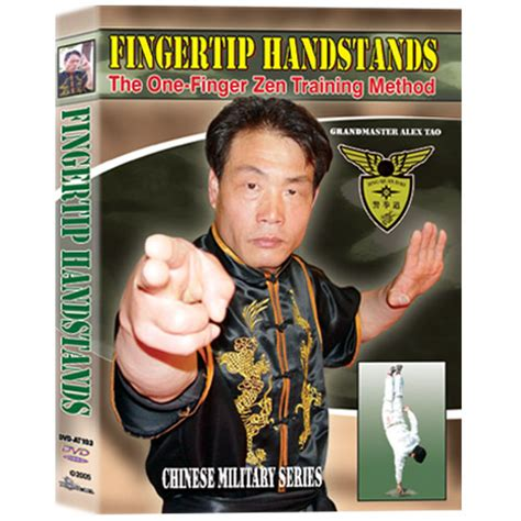 Dvd Martial Arts Alex Tao Iron And Power Meditation fingertip handstands the one finger zen method dvd
