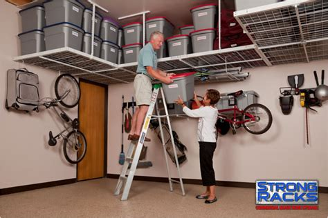 Overhead Garage Storage Racks garage overhead ceiling racks overhead storage racks fort