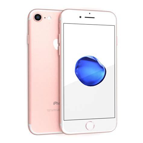 Iphone 7 Rosegold 3d Model Apple Iphone 7
