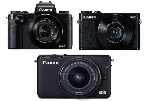 Kamera Canon M10 Terbaru cannon resmikan tiga kamera digital terbaru spek menggoda