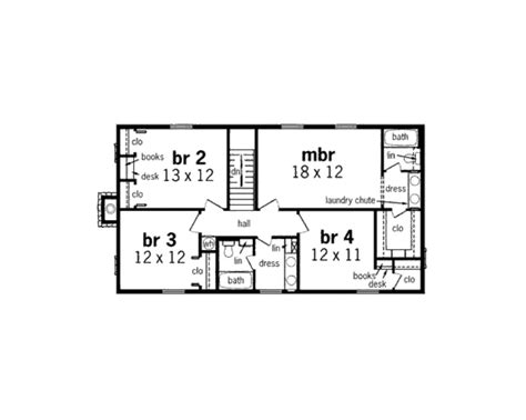 2200 sq ft floor plans country style house plan 4 beds 2 5 baths 2200 sq ft
