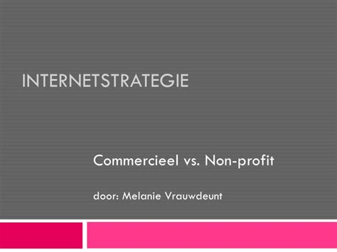 Msm Vs Mba by Internetstrategie Ncoi Vs Uv A