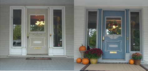 front door before and after our front door a bore no more discovering hadley