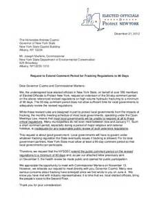 Application Letter To Government Official Letter From Ny Elected Officials Gov Cuomo Requesting