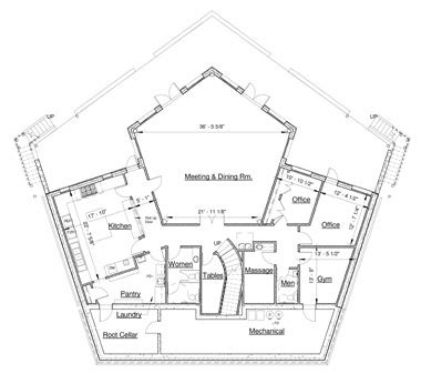 pentagon floor plan pentagon house plans 28 images pentagon floor plan