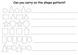 continuing patterns ks1 shape continuing shape patterns by lcdixon88 teaching